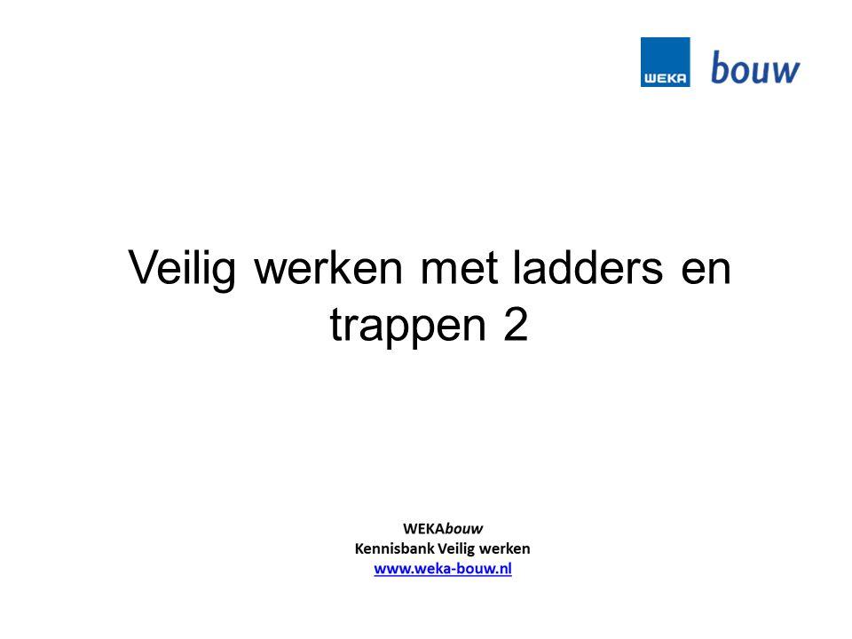 Veilig werken met ladders en trappen 2