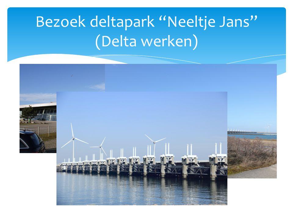 """Bezoek deltapark """"Neeltje Jans"""" (Delta werken)"""