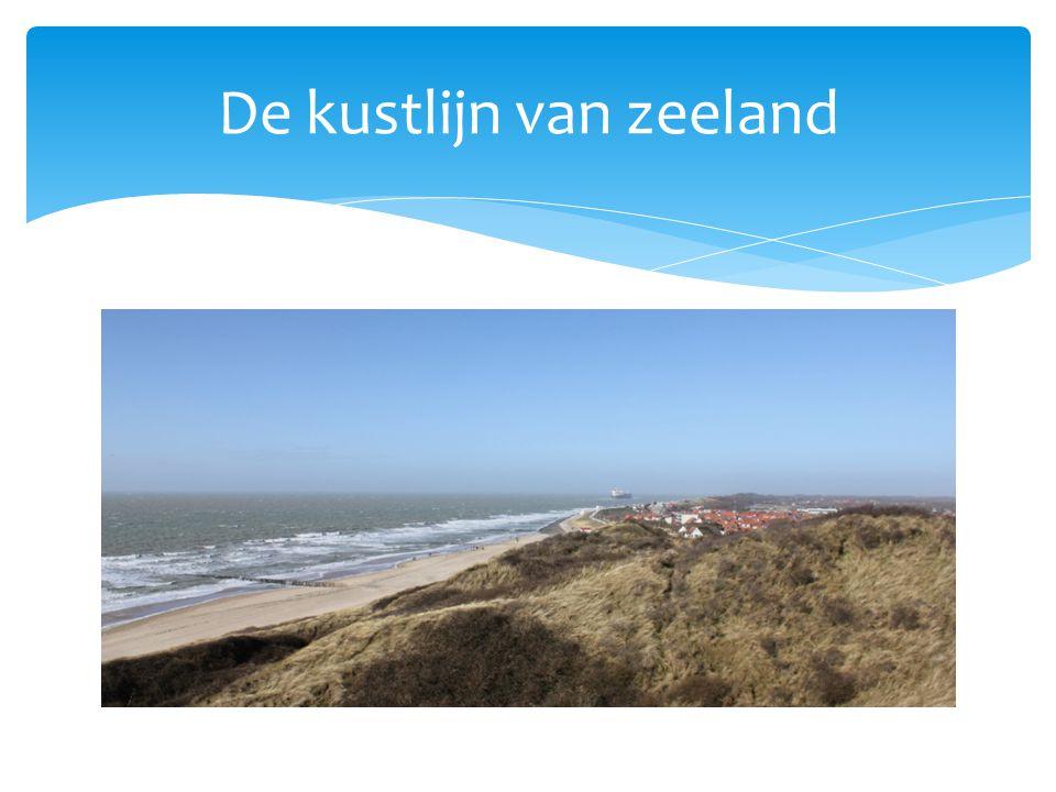 De kustlijn van zeeland