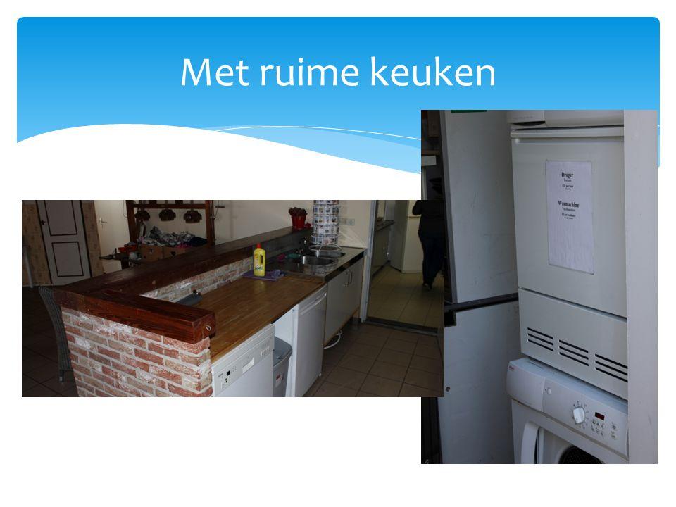 Met ruime keuken