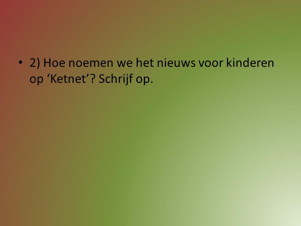 """1) Welke 'Piet' kookt in het TV-programma """"SOS Piet""""? A) Meus B) Huysentruyt C) Dumont"""