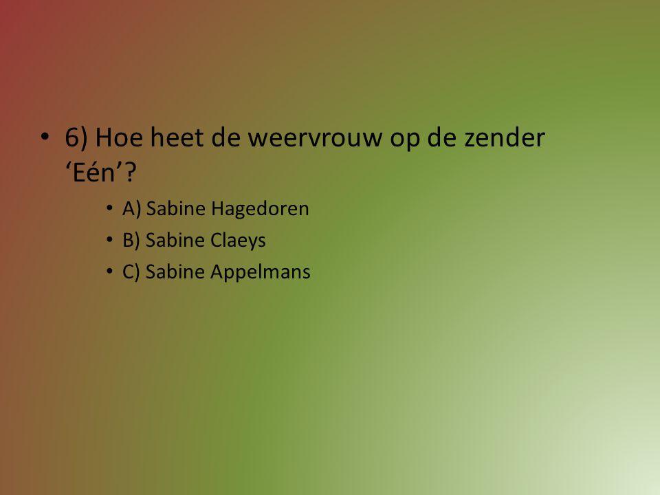 5) Hoe noemen we de jeugdzender van VTM? Schrijf op.