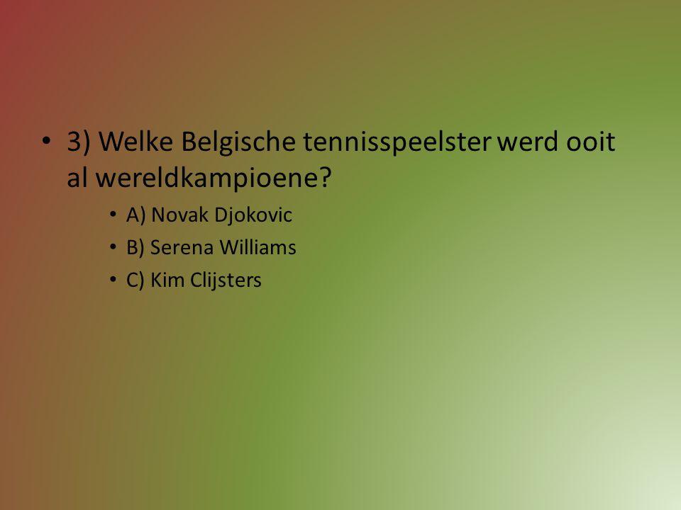 2) In welk land wordt dit jaar het Wereldkampioenschap voetbal gespeeld? A) Amerika B) Brazilië C) België