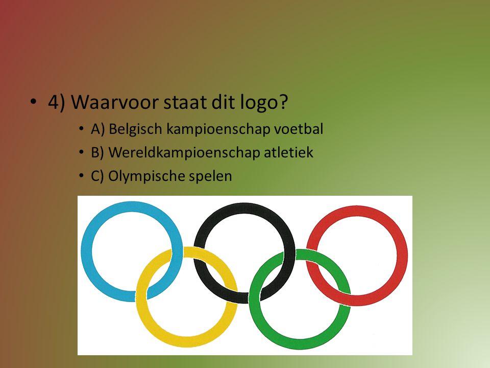 3) Welke Belgische tennisspeelster werd ooit al wereldkampioene? A) Novak Djokovic B) Serena Williams C) Kim Clijsters