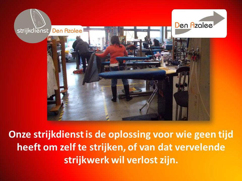 Onze strijkdienst is de oplossing voor wie geen tijd heeft om zelf te strijken, of van dat vervelende strijkwerk wil verlost zijn.