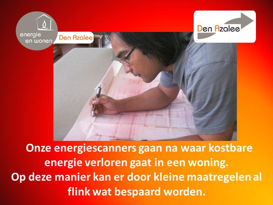 Onze energiescanners gaan na waar kostbare energie verloren gaat in een woning.