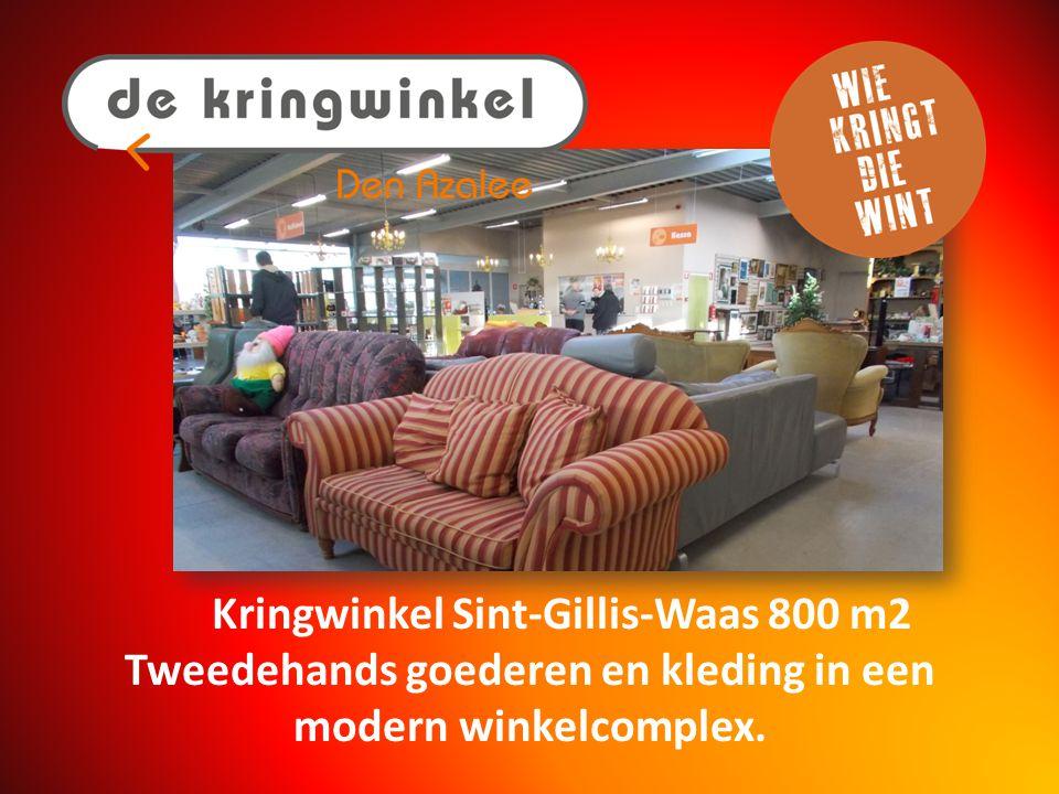 Kringwinkel Temse 600 m2 Gezellig op zoek naar tweedehands goederen.