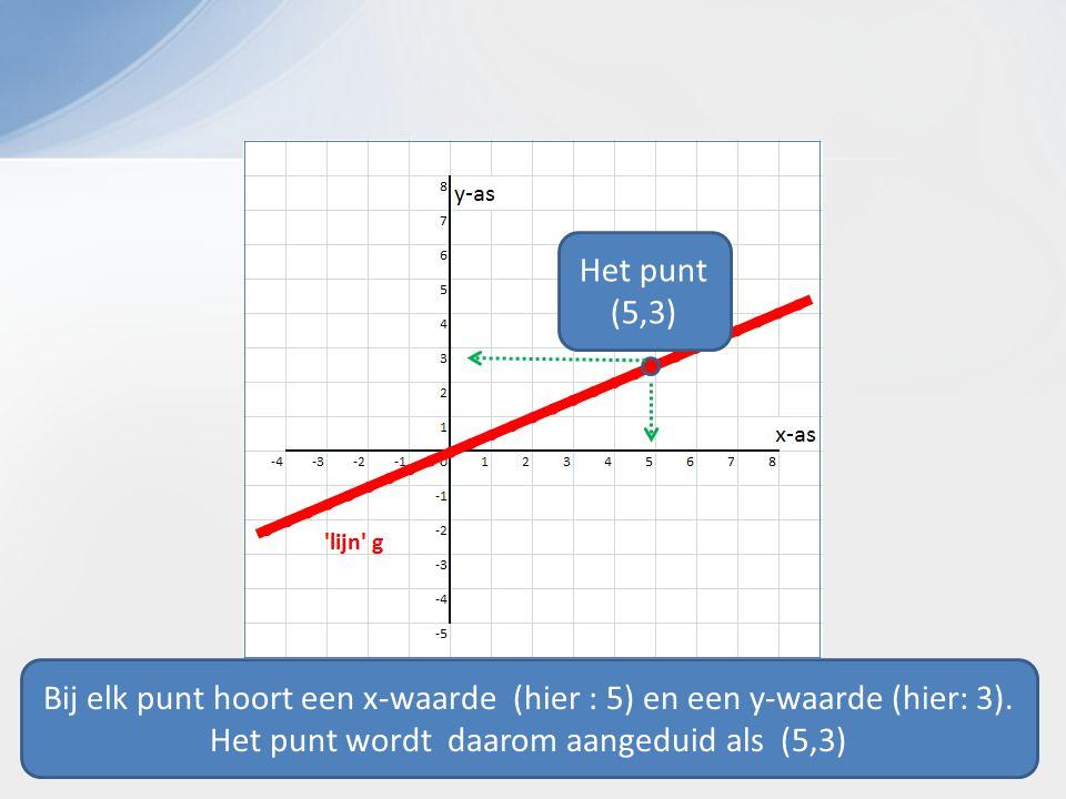 Het punt (5,3)