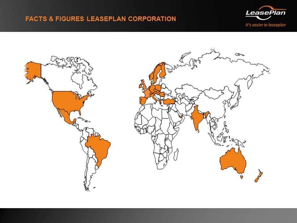 FACTS & FIGURES LEASEPLAN CORPORATION