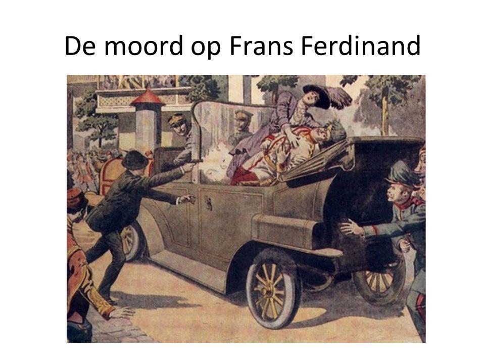 De moord op Frans Ferdinand