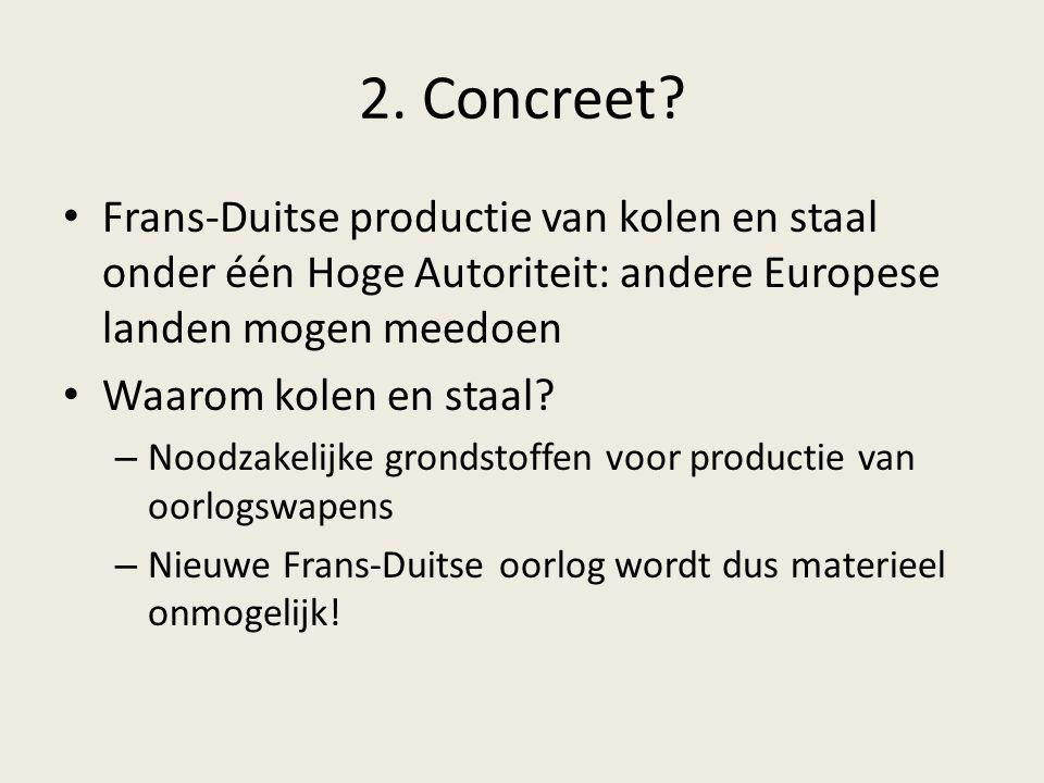 2. Concreet.