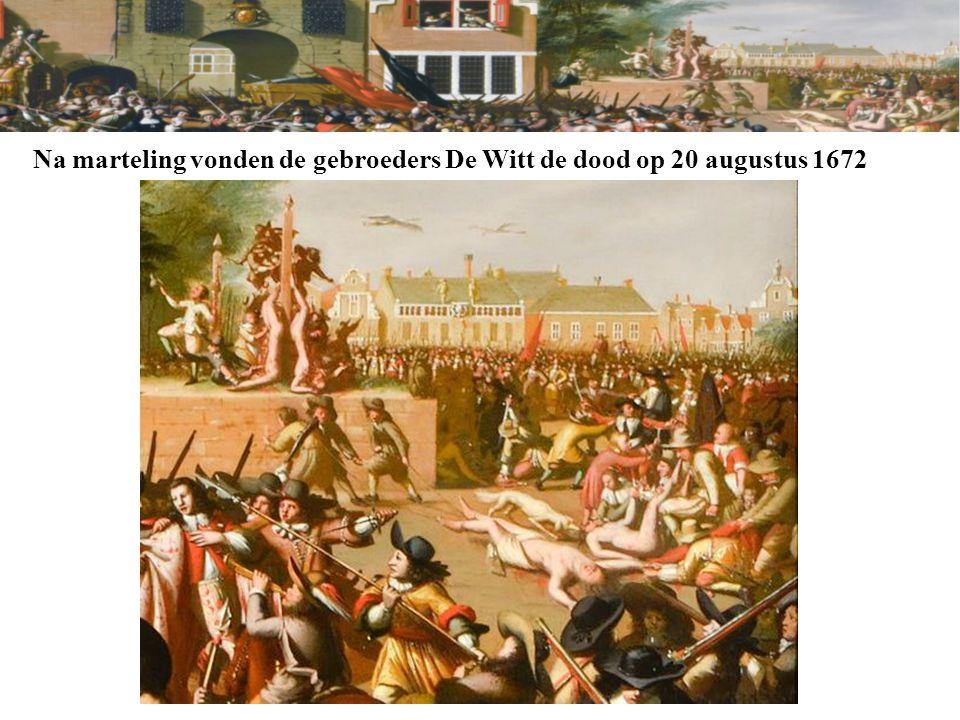 Aan de slag… VERZOEK: SCHRIJF NIET OP DE PAPIEREN UIT HET PROCESDOSSIER, JULLIE KRIJGEN NOG EEN AANTEKENINGENVEL Op Willem Tichelaar / Cornelis Tromp rust de verdenking dat hij opzettelijk en met voorbedachten rade de heren Johan de Witt en Cornelis de Witt van het leven heeft beroofd (artikel 289 Wetboek van Strafrecht), dan wel dat hij opzettelijk behulpzaam is geweest bij het plegen van dit misdrijf (artikel 47 Wetboek van Strafrecht).