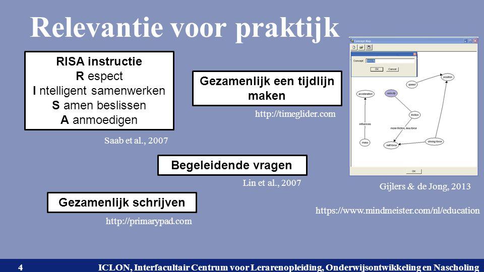 Universiteit Leiden. Bij ons leer je de wereld kennen. ICLON, Interfacultair Centrum voor Lerarenopleiding, Onderwijsontwikkeling en Nascholing Releva