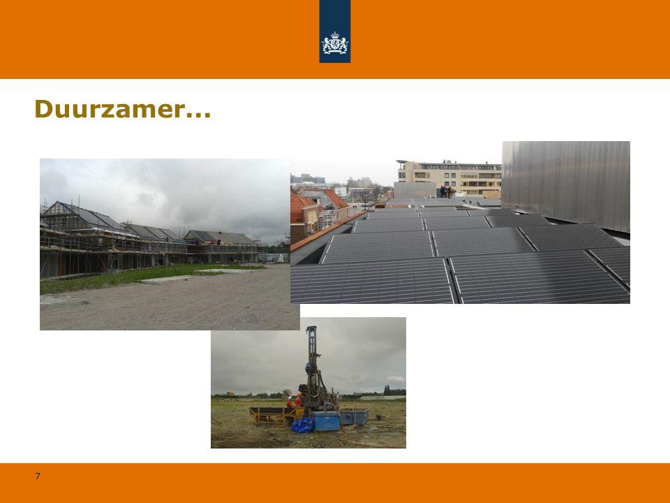 7 © Geregeld BV Duurzamer...