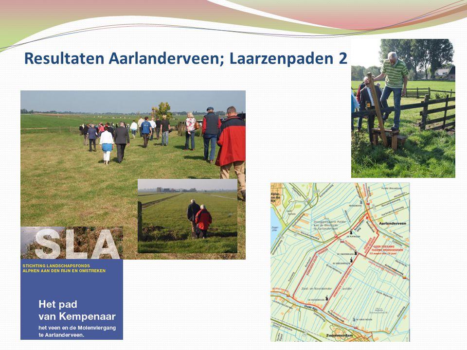Resultaten Aarlanderveen; Laarzenpaden 2