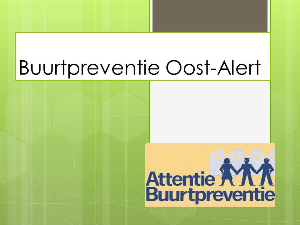 Buurtpreventie Oost-Alert