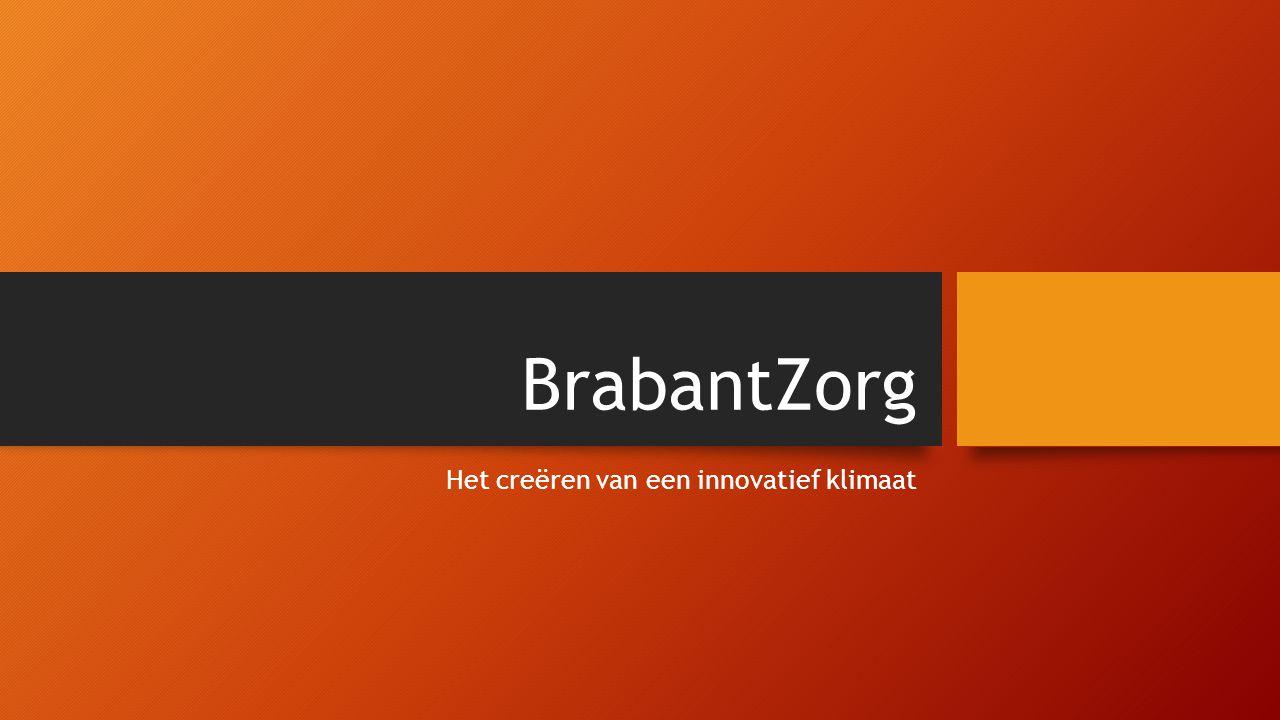 BrabantZorg Het creëren van een innovatief klimaat