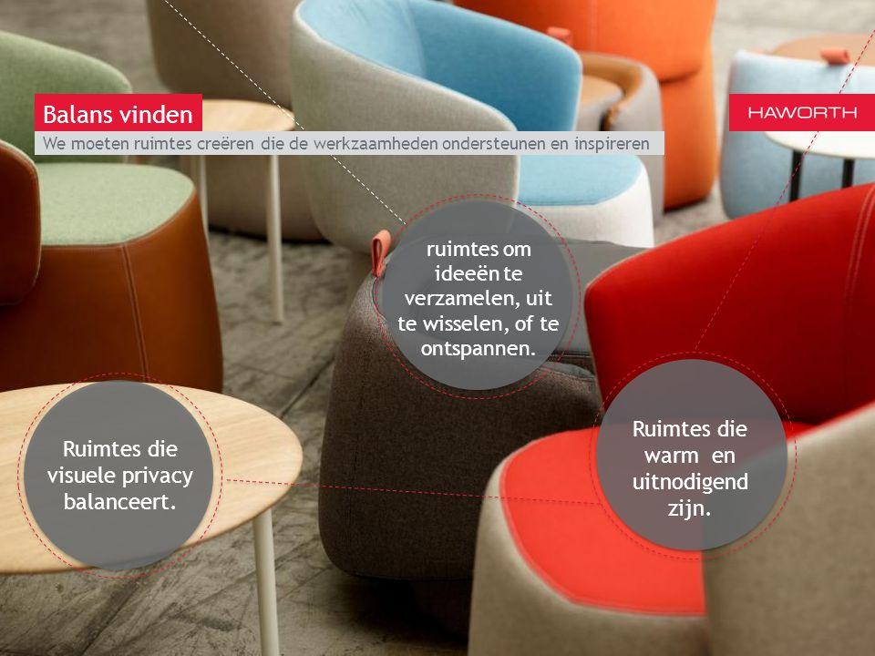 March 13th 2014 | Berlin We moeten ruimtes creëren die de werkzaamheden ondersteunen en inspireren Balans vinden Ruimtes die warm en uitnodigend zijn.