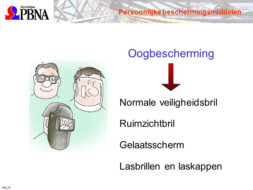 6652_700 Oogbescherming Normale veiligheidsbril Ruimzichtbril Gelaatsscherm Lasbrillen en laskappen Persoonlijke beschermingsmiddelen
