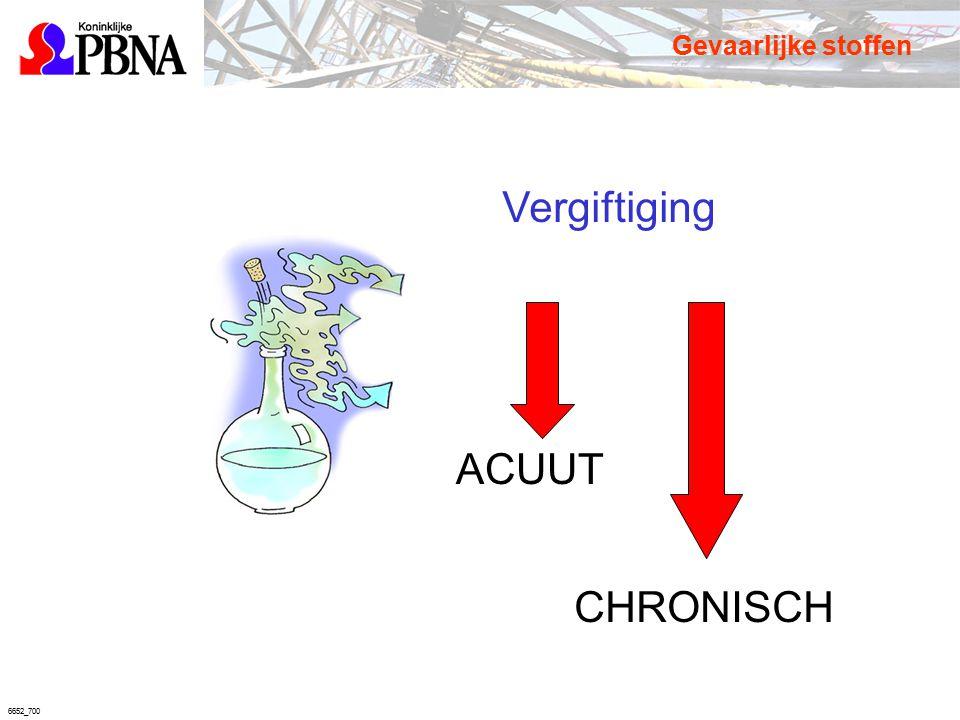6652_700 Vergiftiging ACUUT CHRONISCH Gevaarlijke stoffen
