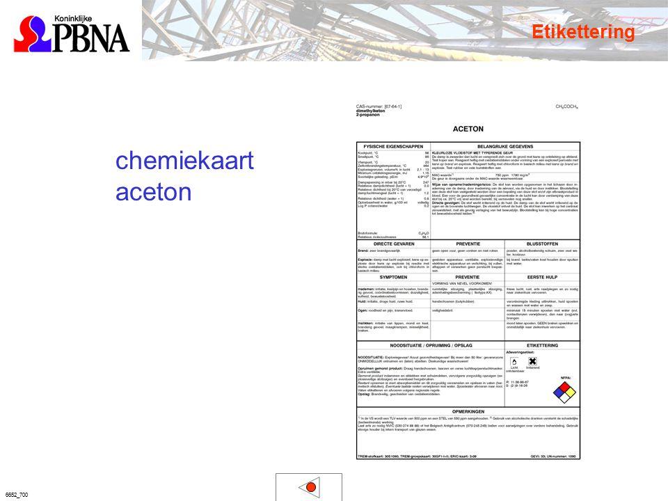 6652_700 chemiekaart aceton Etikettering