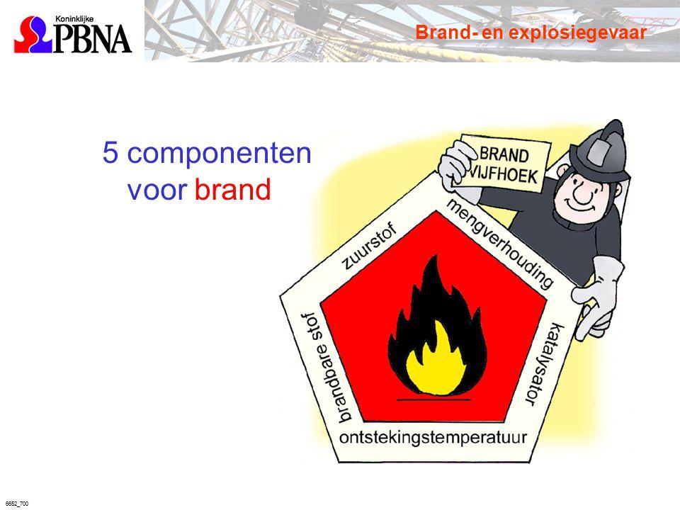 6652_700 Brand- en explosiegevaar 5 componenten voor brand
