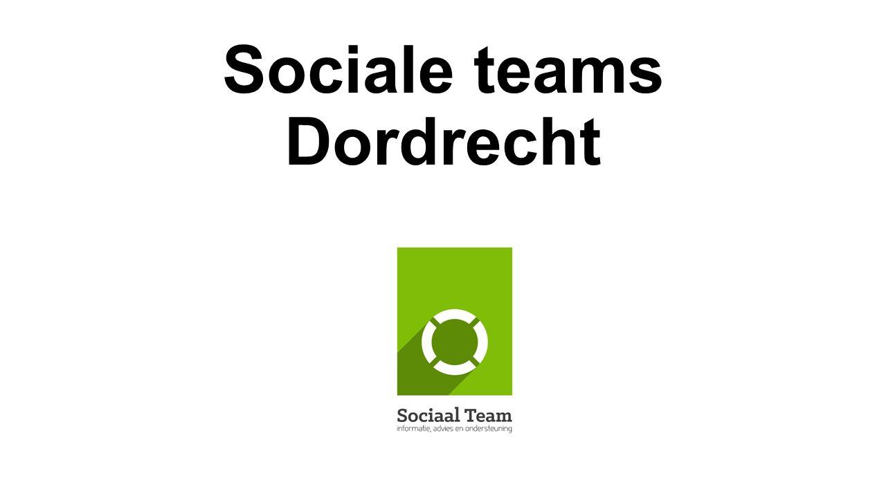 Sociale teams Dordrecht
