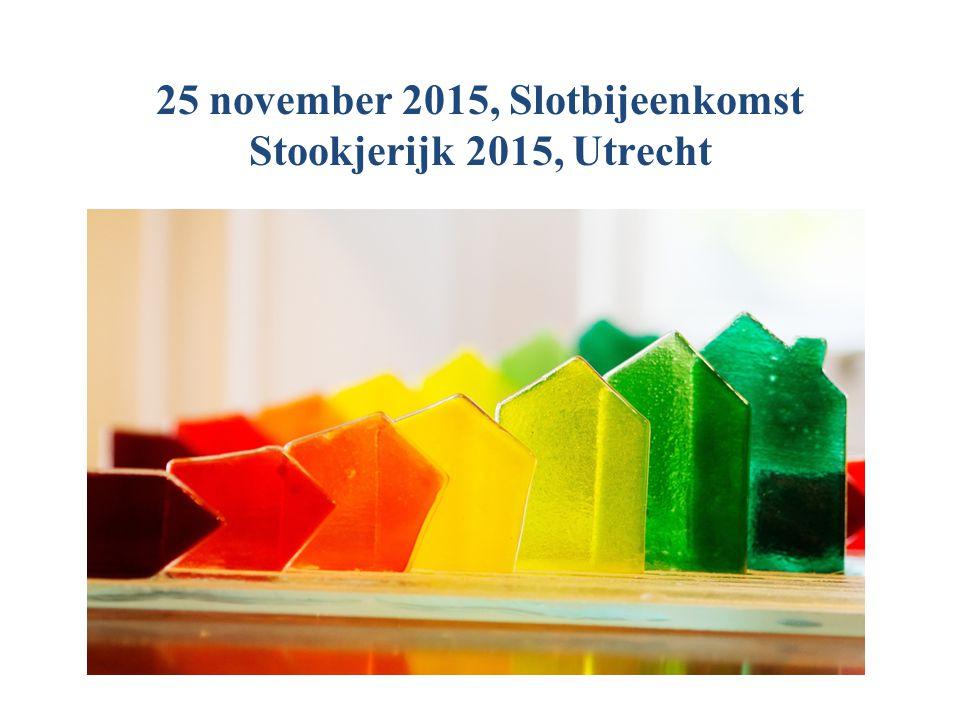 25 november 2015, Slotbijeenkomst Stookjerijk 2015, Utrecht
