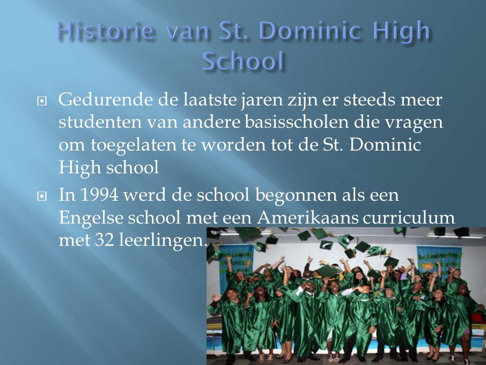  De St. Dominic High School is een rooms- katholieke middelbare school met Engels als voertaal