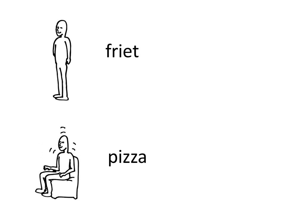 friet pizza