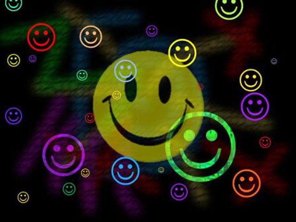 Als de mond glimlacht is het hart gelukkig!
