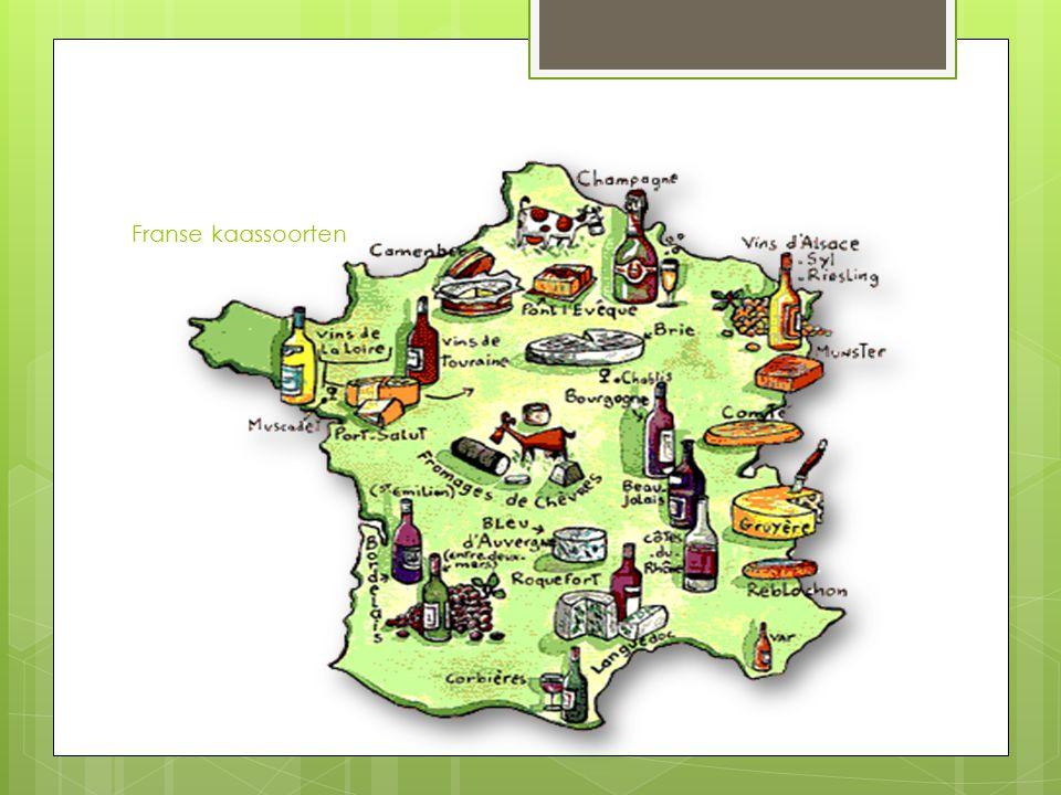 Franse kaassoorten