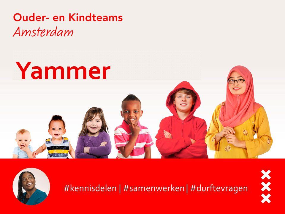 Yammer #kennisdelen | #samenwerken | #durftevragen