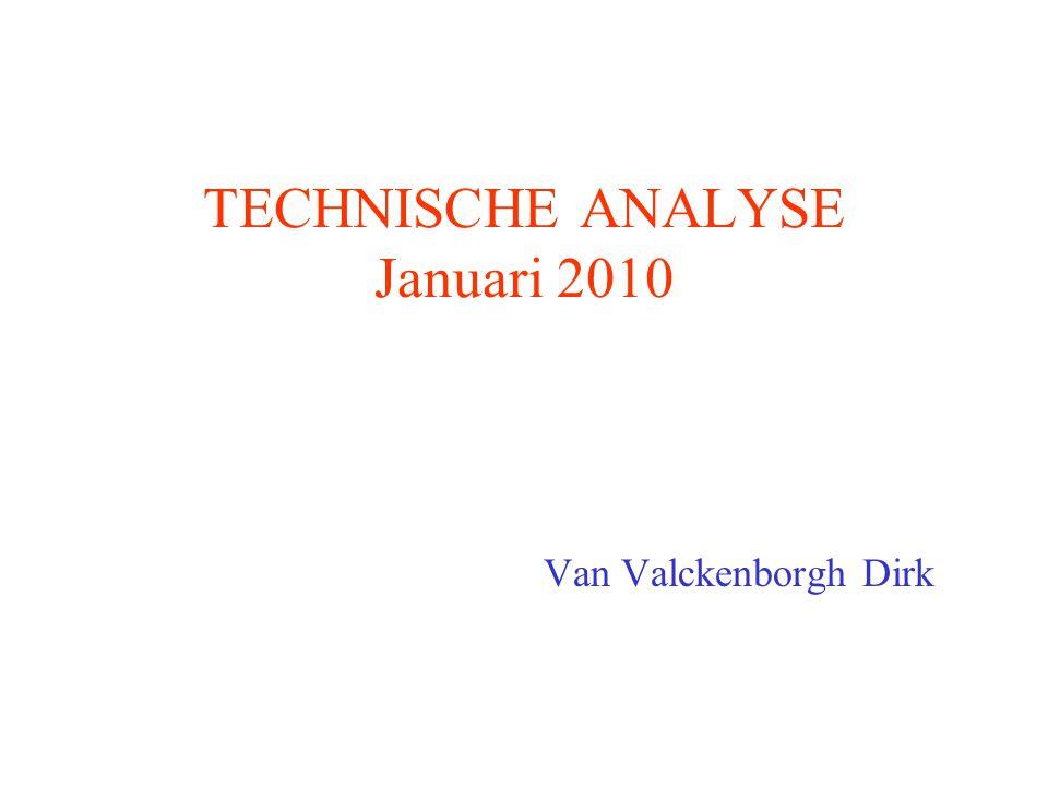 TECHNISCHE ANALYSE Januari 2010 Van Valckenborgh Dirk