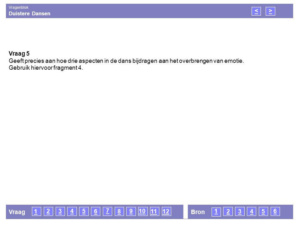 Duistere Dansen Vragenblok 21 <> Vraag 6 Zowel krumpen als butoh zijn ontstaan naar aanleiding van negatieve gebeurtenissen.