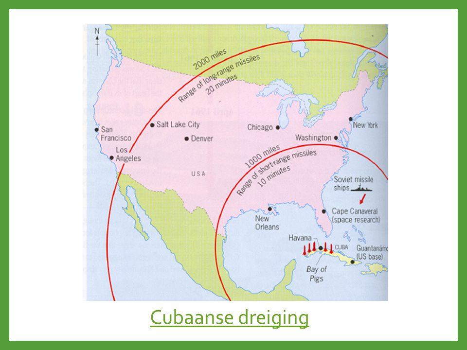 Cubaanse dreiging