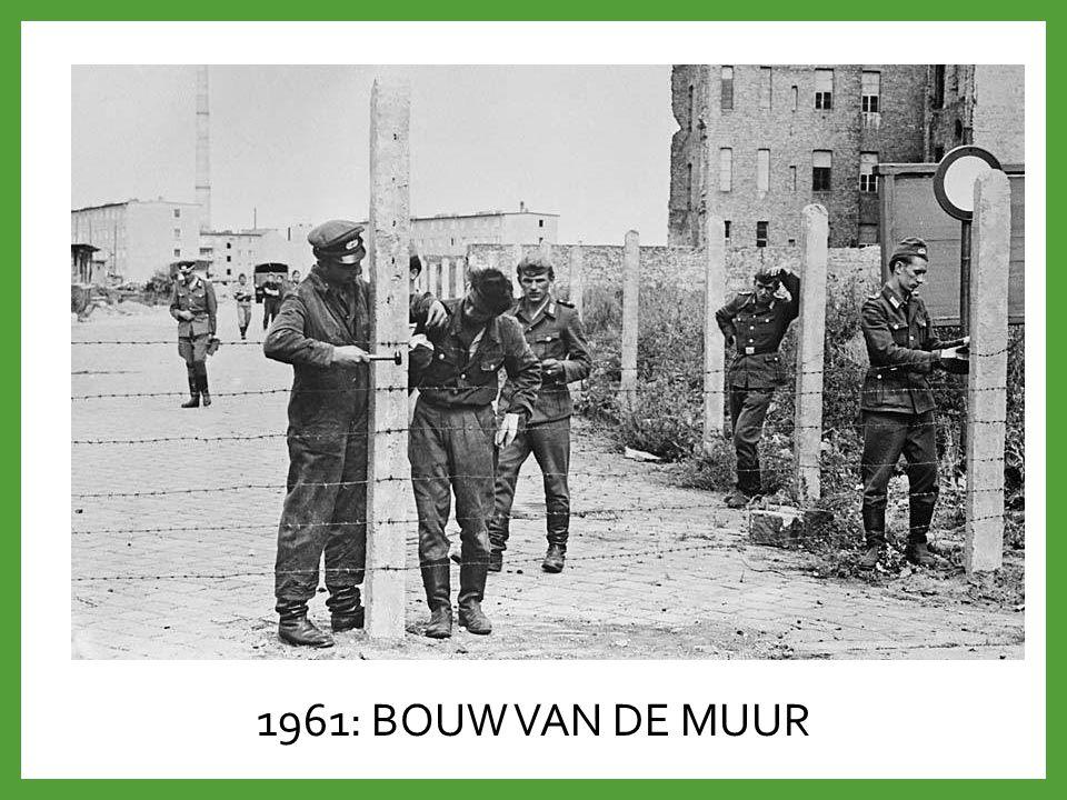 1961: BOUW VAN DE MUUR