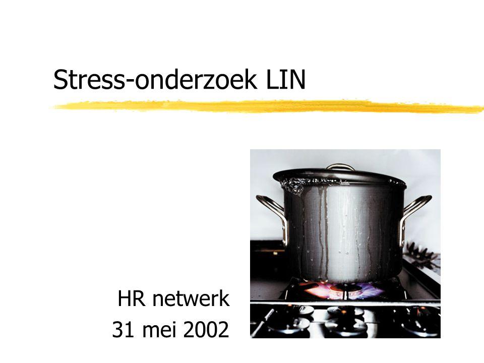 Stress-onderzoek LIN HR netwerk 31 mei 2002