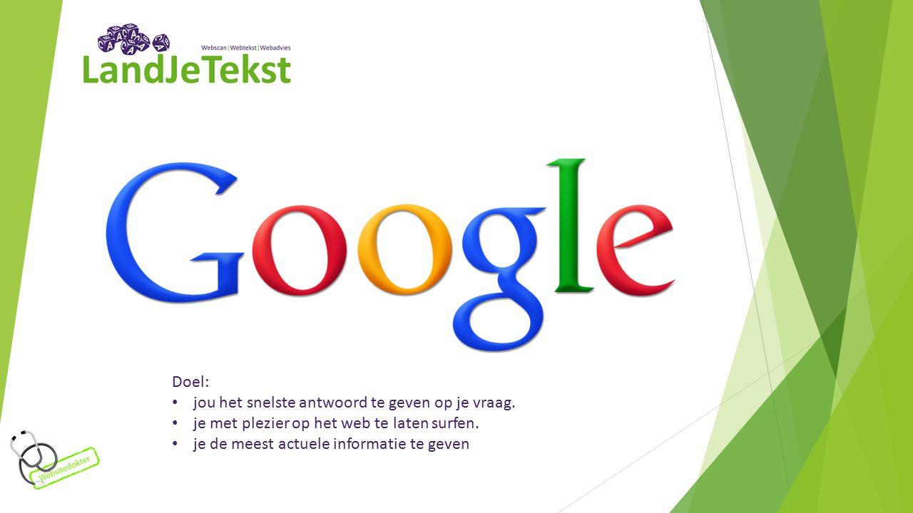 7.Gebruik social media en koppel je website Google kijkt ook naar je activiteiten op social media.
