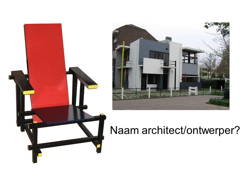 Naam architect/ontwerper?