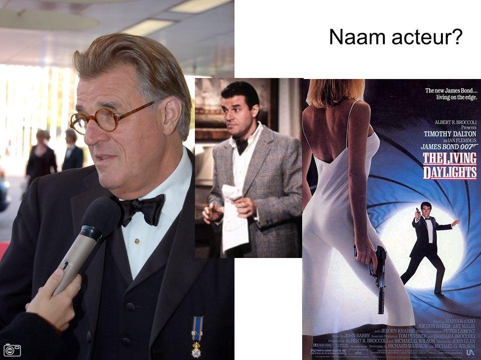 Naam acteur?