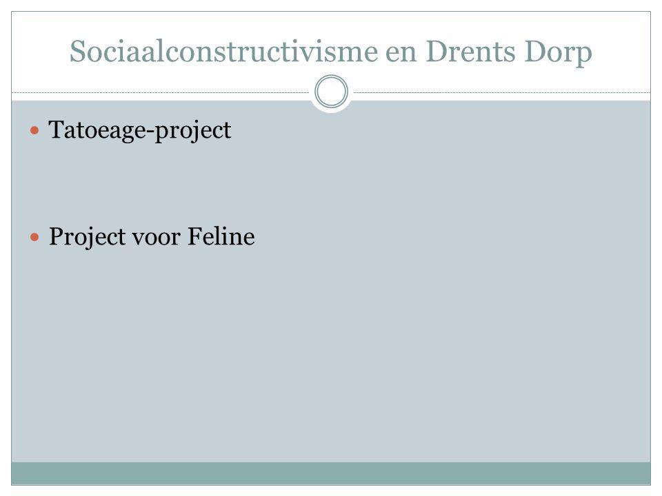 Sociaalconstructivisme en Drents Dorp Tatoeage-project Project voor Feline