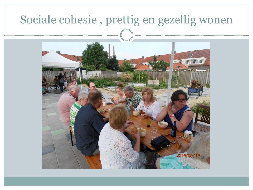 Sociale cohesie, prettig en gezellig wonen