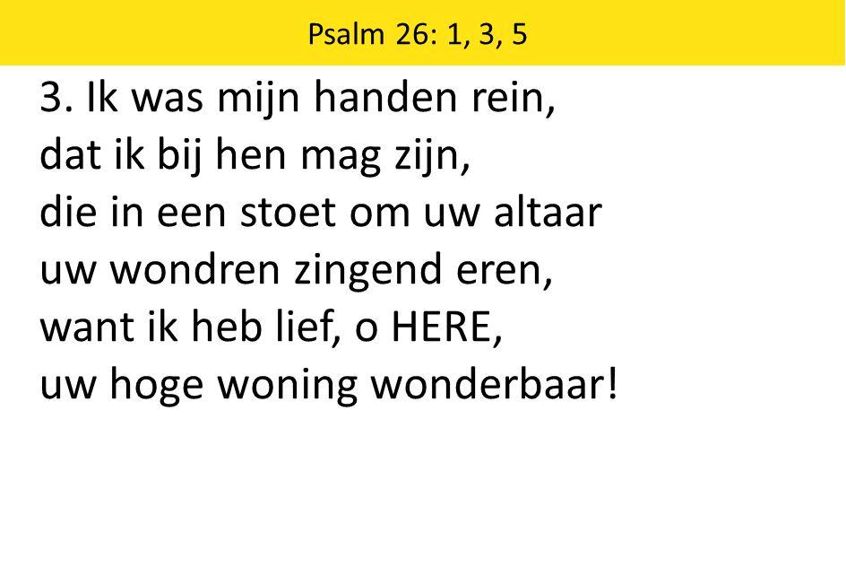 Ik geloof in God den Vader, den Almachtige, Schepper des hemels en der aarde.