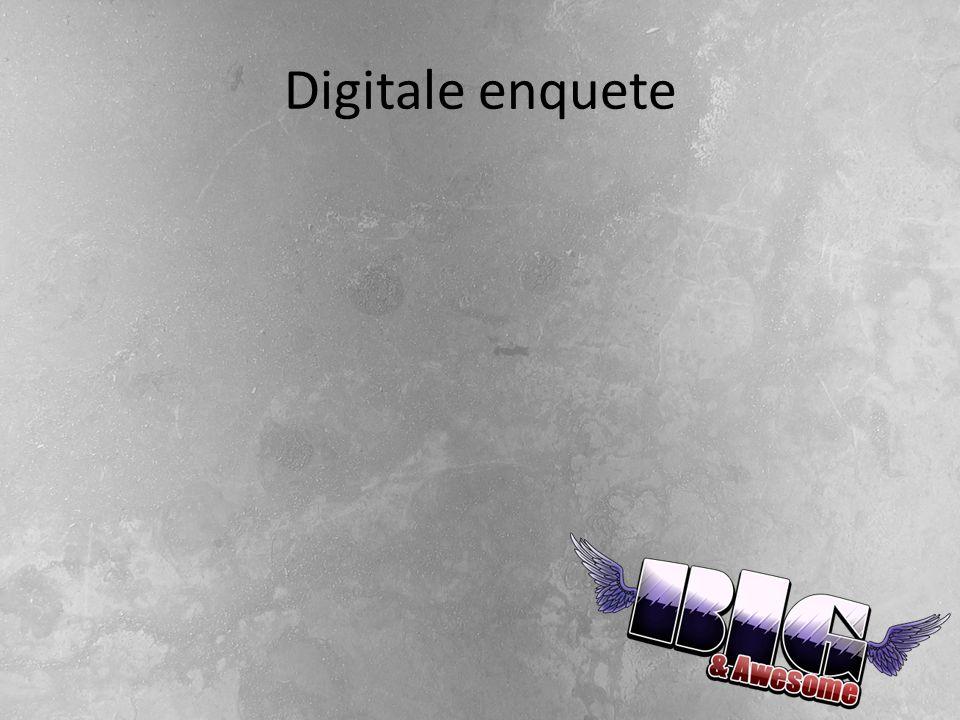 Digitale enquete
