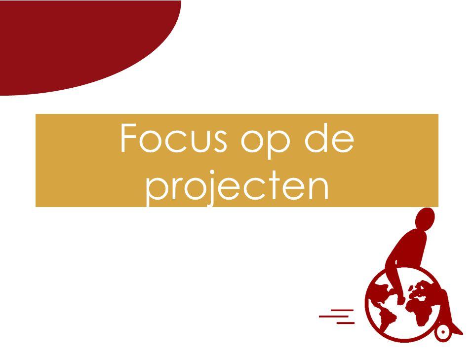 Focus op de projecten