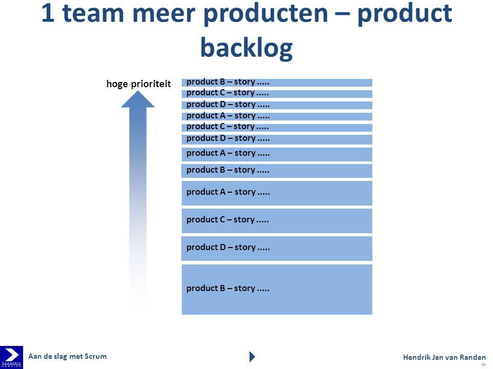 product D – story.....product A – story..... product C – story.....