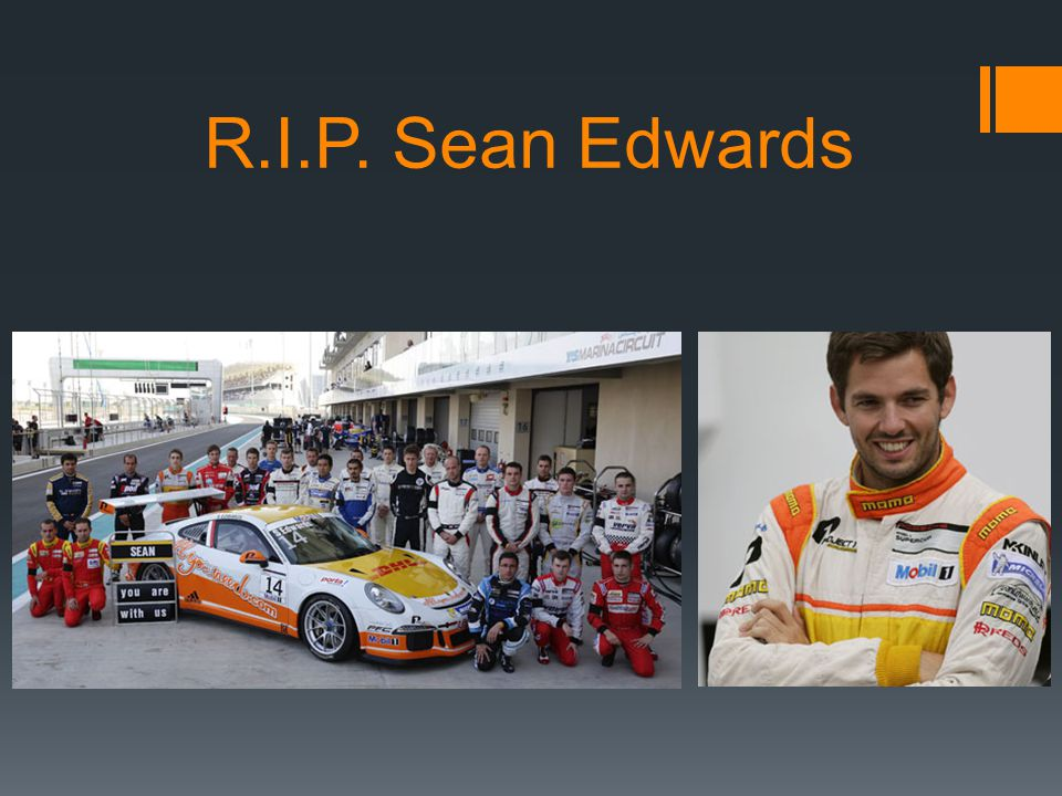 R.I.P. Sean Edwards