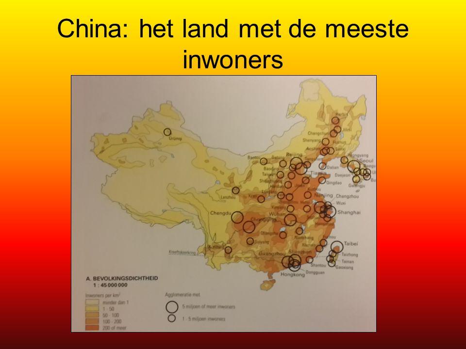 Groepswerk overbevolking Werk per 5 een stappenplan uit om de overbevolking van China te gaan.