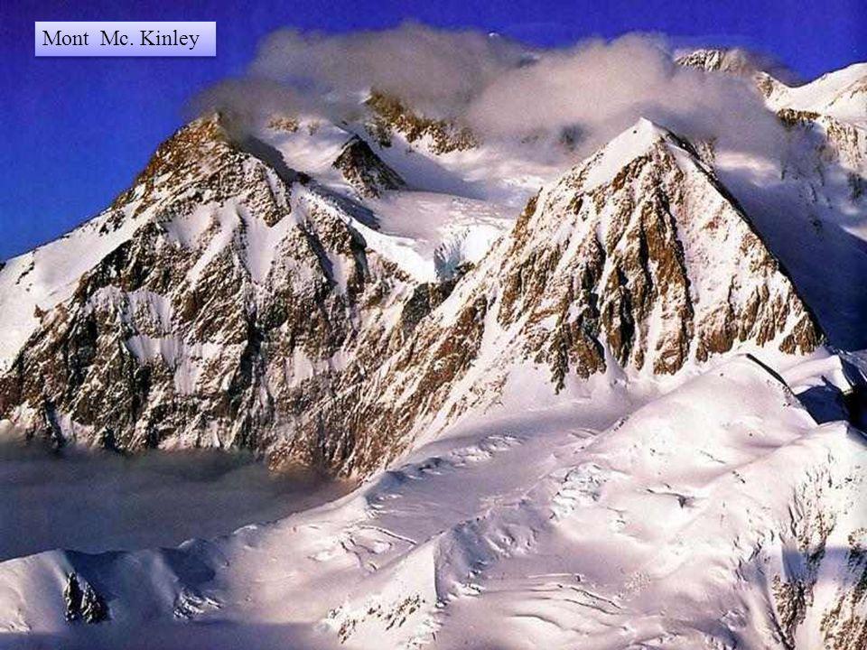 Met zijn hoogte van 6.500 m is de berg McKinley de hoogste top van Noord-Amerika.
